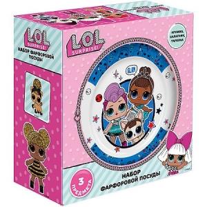 """L.O.L. Surprise! 275863 Набор посуды в подарочной упаковке  фарфор"""""""