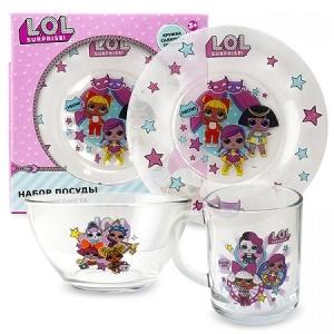 """L.O.L. Surprise!  Набор посуды в подарочной упаковке   284516"""""""
