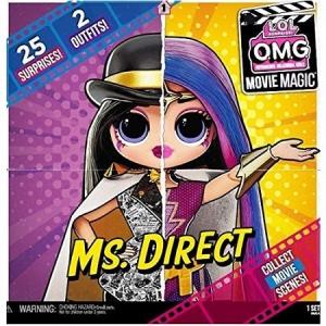 Кукла LOL OMG Movie Magic MS Direct  Мисс директ