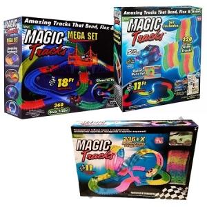 Magic Tracks Меджик трек из трех наборов 816 деталей