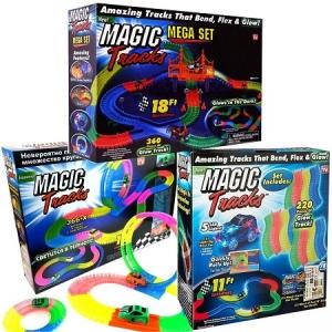 Magic Tracks Меджик трек из трех наборов 946 деталей
