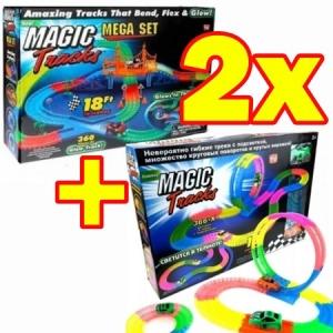 Magic tracks 726 деталей с мостом-пальмами и смертельной петлей.