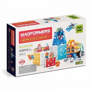 Magformers Brain Evolution