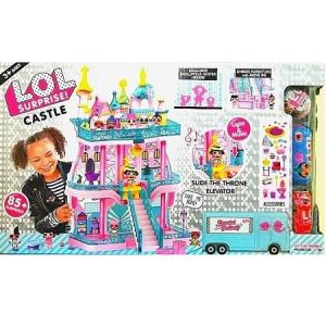 Дом кукол Лол Замок 3 этажа