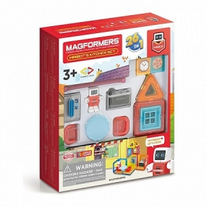 Magformers Minibot's Kitchen Set арт  1089844
