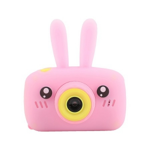 Детский фотоаппарат Fun Camera Bear Зайчик розовый