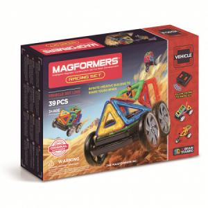 Магнитный конструктор Magformers  р/у Racinпg Set на батарейках. ,