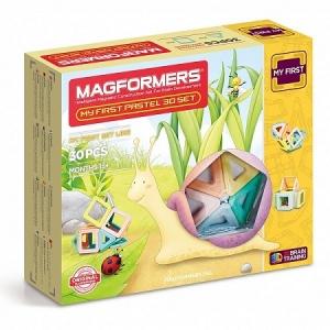 Магнитный конструктор Magformers   702013  My First Pastel