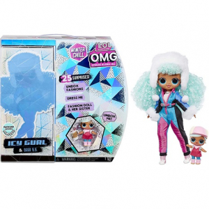 Кукла LOL OMG Winter Chill Icy Girl Ледяная девушка