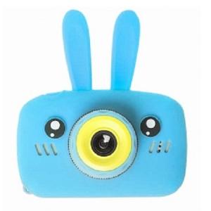 Детский фотоаппарат Зайчик синий