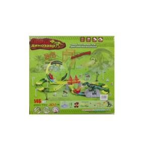 Поезд трек Динозавр  305 см