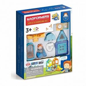 Магнитный конструктор 26 в 1 Max's Playground
