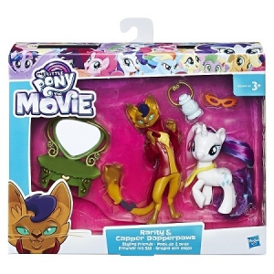 Hasbro My Little Pony Набор урок Дружбы Рарити и Хитрый хвост B9160/E2246