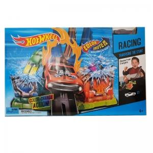 3009 Игровой набор Хот Вилс Супер Автомойка с трамплином