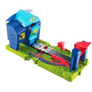 FNB08 Хот Вилс Игровой набор Сити с монстрами-злодеями. Оригинал !