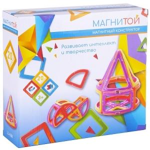 Магнитой  Конструктор магнитный  LL-1008  Конус