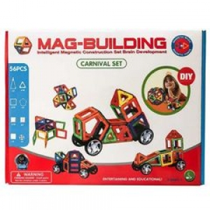 Mag Building  56  деталей  + Бесплатная доставка!