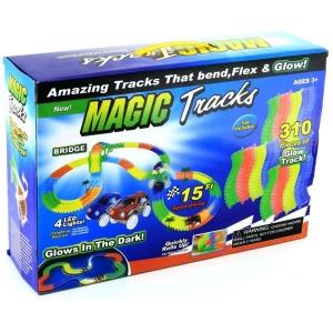 Magic Tracks 310 деталей + 2 машинки
