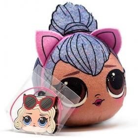 "L.O.L. Kitty Queen Плюшевая сумочка с сюрпризом антистресс  AST193940"""