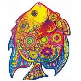 Деревянный пазл Рыбка