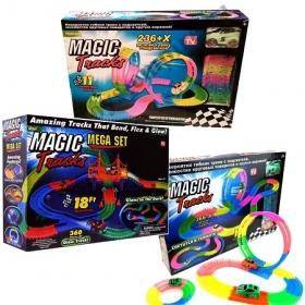 Magic Tracks-Меджик трек из трех наборов-962 детали.