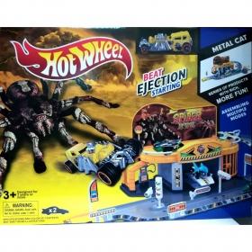 3031  Игровой гараж Паука + машинка паук Spider Hot Wheels