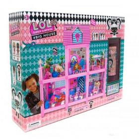 Кукольный домик LOL Surprise House.