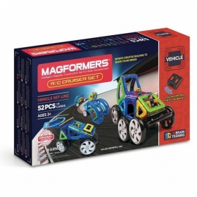 Magformers р/у - Cruiser Set 63091 на батарейках  52 детали