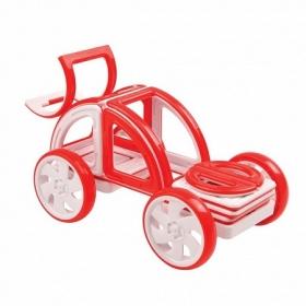 Magformers - My First Buggy Car Set, красный и синий   63145