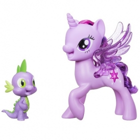 Hasbro My Little Pony Поющие Твайлайт и Спайк C0718