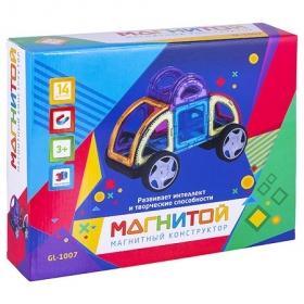 Магнитой  Конструктор магнитный Машинка