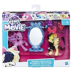 Hasbro My Little Pony Урок Дружбы Искорка и Серенада B9160/E0996