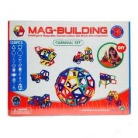 Магнитный конструктор Mag Building138 деталей