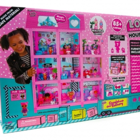 Кукольный домик LOL Surprise House + 85.