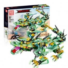 Моулд кинг-Зеленый дракон на радиоуправлении-515 деталей