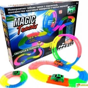 Светящийся трек Magic Tracks 366 деталей